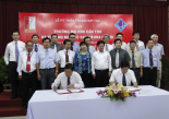 Hanoi University of Science and Technology signed a cooperation agreement with Can Tho University